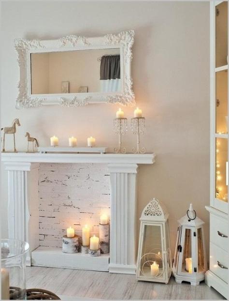 Romantik im Kerzenschein