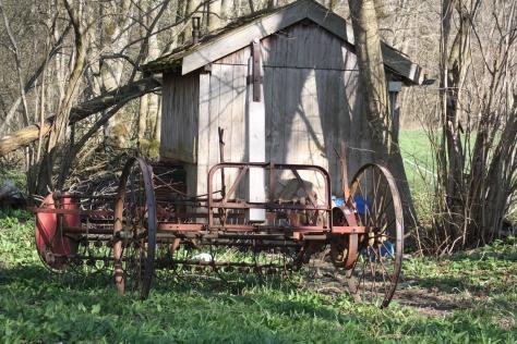 alter Landwirtschaftsgerät